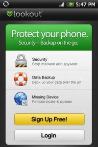 Anti Malware Lookout Mobile Security
