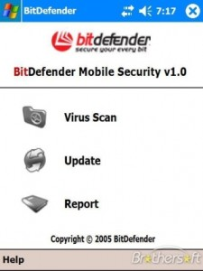 Anti Trojan BitDefender Windows Mobile