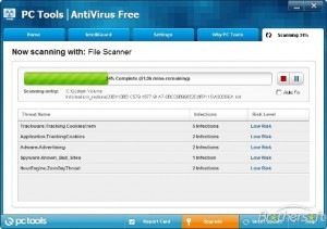 PC Tools Antivirus Free 2012